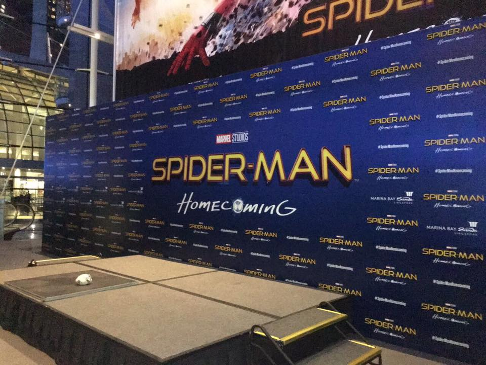 SpiderMan Home Coming Stag