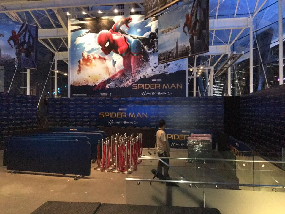 SpiderMan Homecoming Props