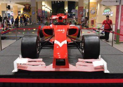 F1 Display Car Rental at Bedok Mall